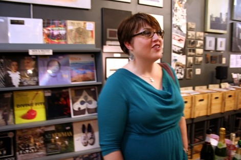 Amanda Walz, pictured in 2012 at Transistor's three-year anniversary party.