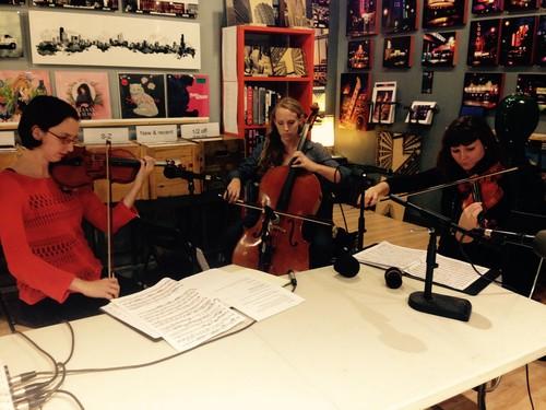 Ayuda Quartet on   Depth of Field
