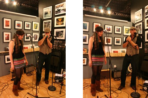 Calvin Conway with Mary Porzelt on   In Store