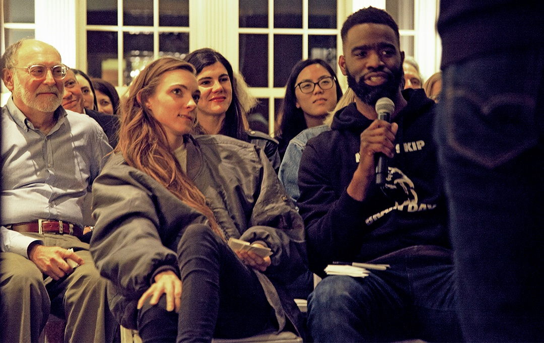 CIRKEL: New York Stories - On April 29, 2019, three generations of New Yorkers told their stories of career transitions and professional reinvention: Pat Dagle (creative director, millennial), Alzo Slade (VICE News correspondent, gen X), and Ruth Wooden (former Ad Council President, boomer).