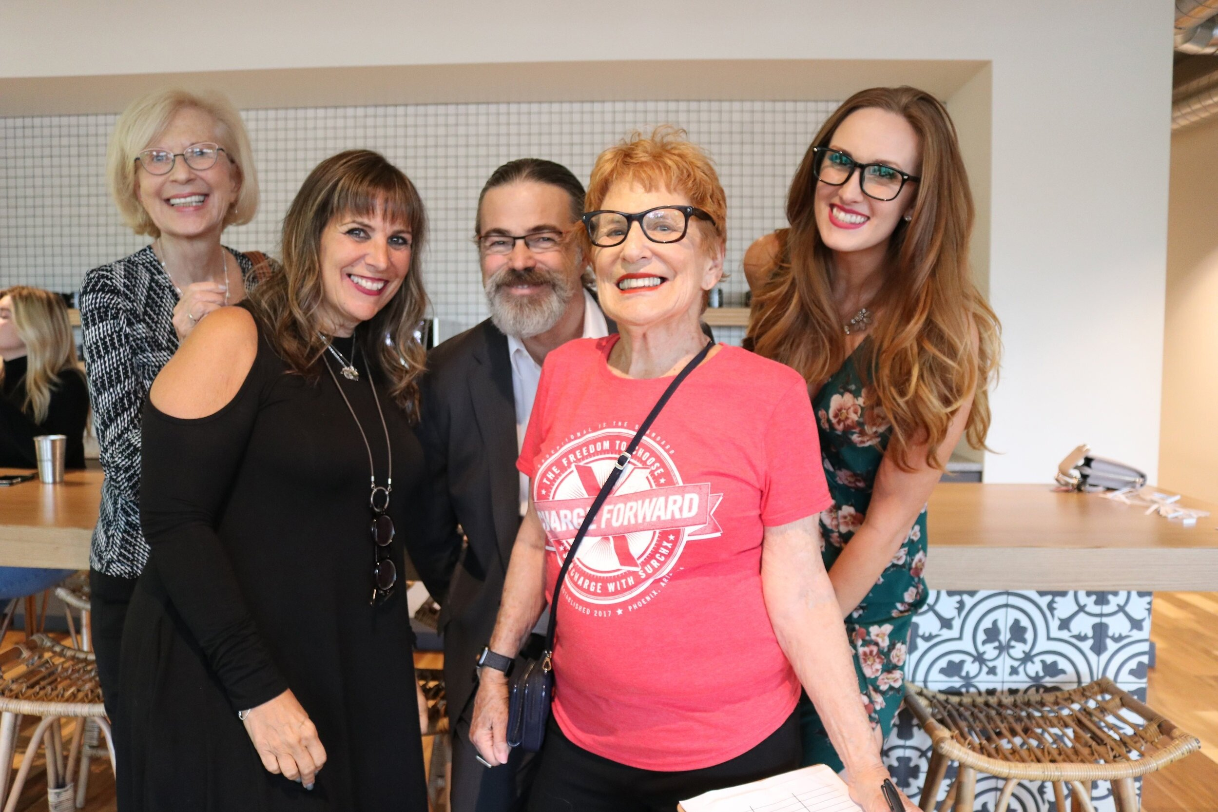 Generation C Happy Hour (PHX) - CIRKEL's Arizona chapter leads, Nancy A. Shenker and Mariah Maynard hosted the first Phoenix salon, introducing cross-generational conversation to the desert!Recap photos ➝