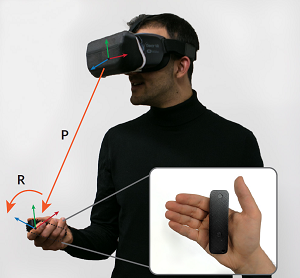 The ability to track handheld controllers in 3D space is critical for interaction with head-mounted displays, such as those used in virtual and augmented reality systems. Today's systems commonly rely on dedicated infrastructure to track the controller or only provide inertial-based rotational tracking, which severely limits the user experience. Optical inside-out systems offer mobility but require line-of-sight and bulky tracking rings, which limit the ubiquity of these devices. In this work, we present Aura, an inside-out electromagnetic 6-DoF tracking system for handheld controllers. The tracking system consists of three coils embedded in a headmounted display and a set of orthogonal receiver coils embedded in a handheld controller. We propose a novel closed-form and computationally simple tracking approach to reconstruct position and orientation in real time. Our handheld controller is small enough to fit in a pocket and consumes 45mW of power, allowing it to operate for multiple days on a typical battery. An evaluation study demonstrates that Aura achieves a median tracking error of 5.5mm and 0.8° in 3D space within arm's reach.