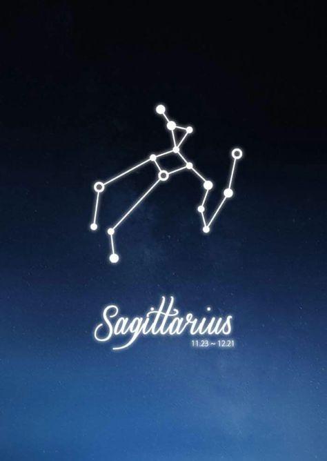 Sagittarius Constellation Zodiac Sign November December Astrology