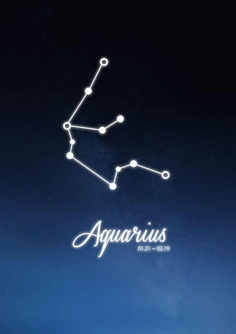 Aquarius Constellation Zodiac Sign January February Astrology