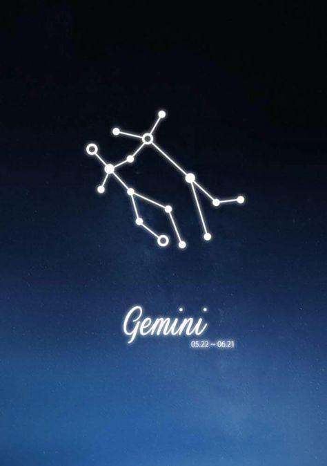 Gemini Constellation Zodiac Sign May June Astrology