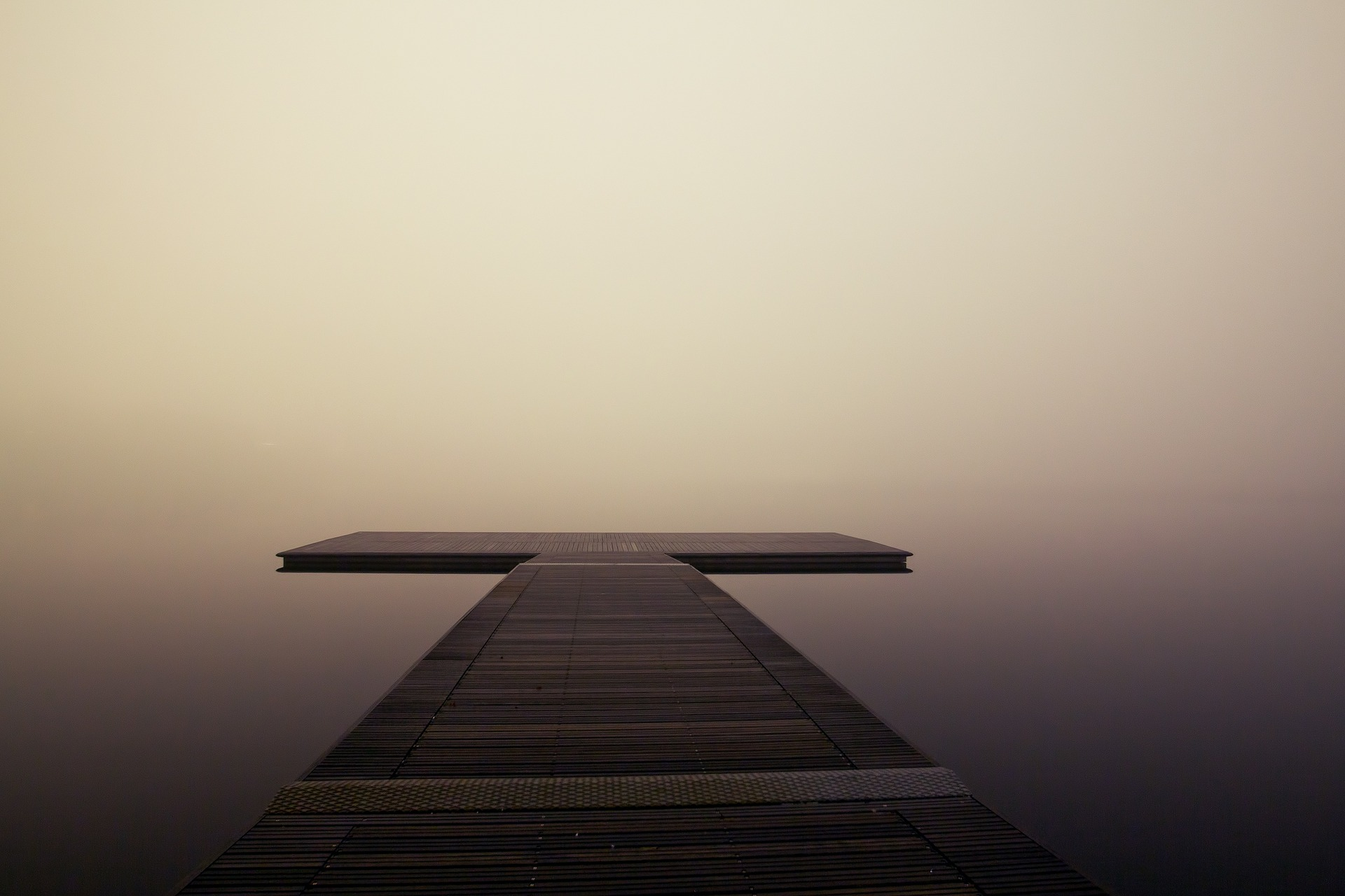 to get CLARITY - you come. sit. and think until it becomes clear