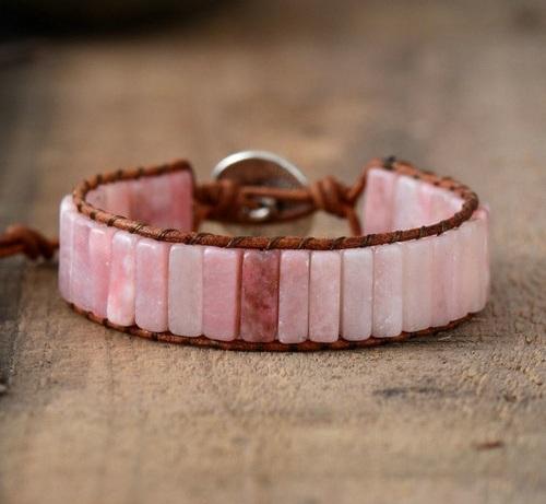 Bohemian-leather-wrap-bracelet-lovely-rare-pink-opal-leather-wrap-bracelet-by-peaceful-island-com-gift.jpg