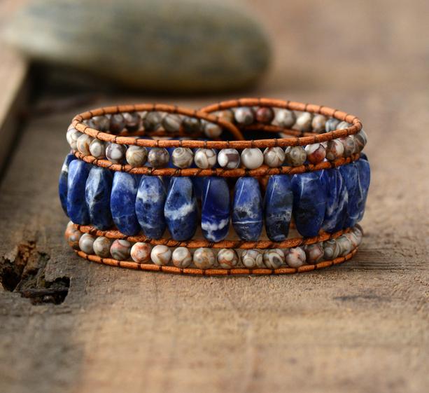 bohemian-cuff-bracelet-stone-bead-bracelets-handmade-healing-stones-sodalite-jasper-beads-leather-wrap-bracelet-by-peaceful-island-com.jpg