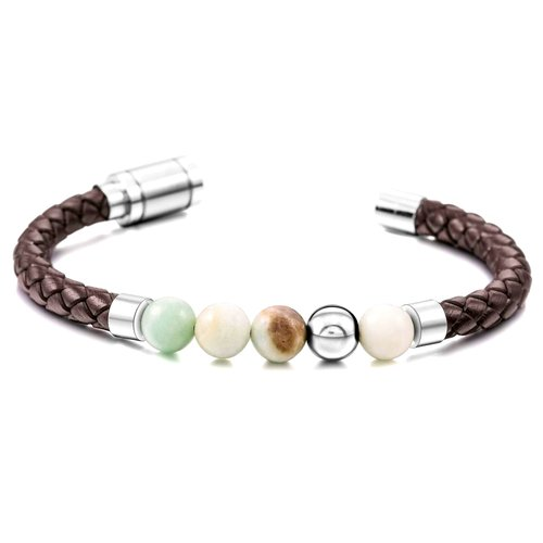 Best-mens-bracelet-healing-stones-amazonite-stone-genuine-leather-stainless-steel-jewelry-for-men-red-brown-cool-peaceful-island-com.jpg
