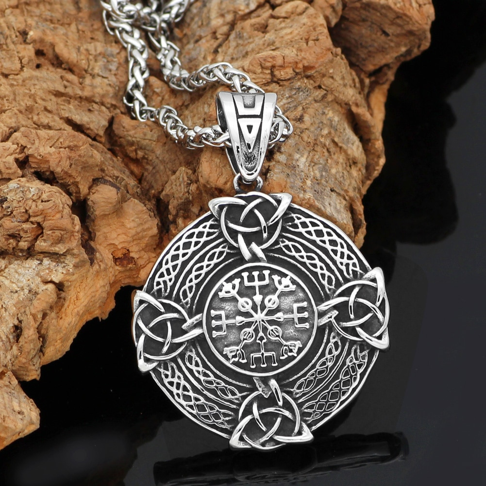 Handmade Celtics Knot Pendant Necklace Norse Viking Knot pendant Necklace