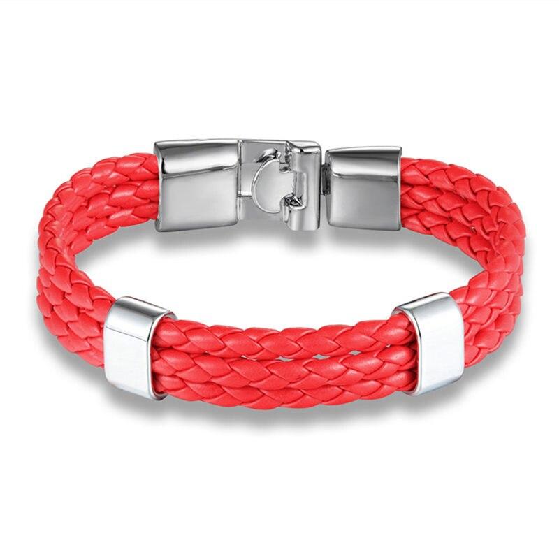 Men S Leather Wrap Bracelet