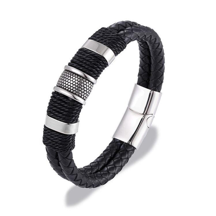 black-silver-leather-bracelets-island-leather-rope-cuff-bracelet-for-men-handmade-bracelets-masculine-jewelry-by-peaceful-island.jpg