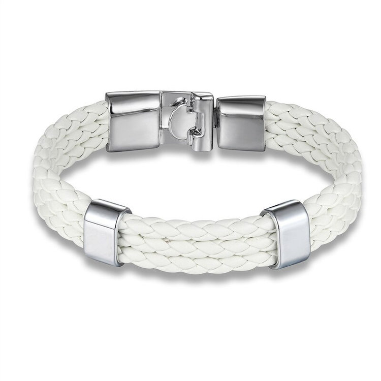 White-leather-wrap-bracelet-for-men-with-stainless-steel-silver-closure-unique-elegant-mens-bracelets-peaceful-island-com.jpg