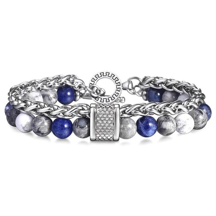 mens-beaded-bracelets-colorful-authentic-lapis-lazuli-white-howlite-stone-agate-gemstones-metal-closure-for-guys-peaceful-island-com.jpg