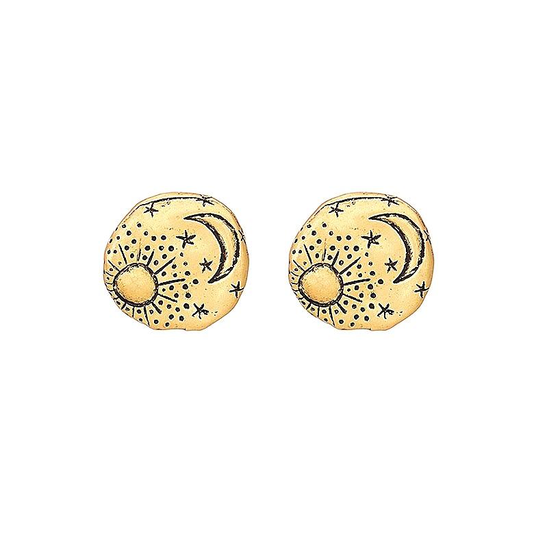 Galaxy-star-moon-stud-earrings-gold-unique-fun-earrings-handmade-womens-jewelry-by-peaceful-island-com.jpg