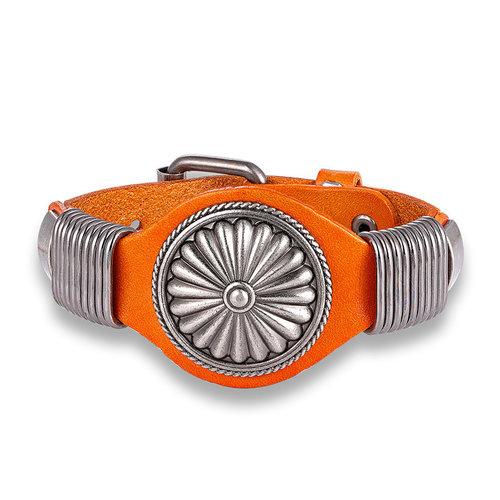 Cool-orange-leather-bracelet-for-men-handmade-men's-bohemian-jewelry-wide-leather-bracelets-mens-jewelry-by-peaceful-island-com.jpg