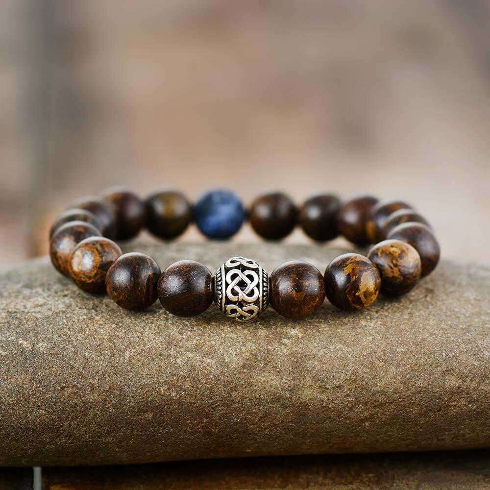 prime chakra healing crystals bracelet with bronzite crystals for stress chakra bracelet shop peaceful island com pulsera de cristales curativos balance jewelry tibetan silver bead.jpg