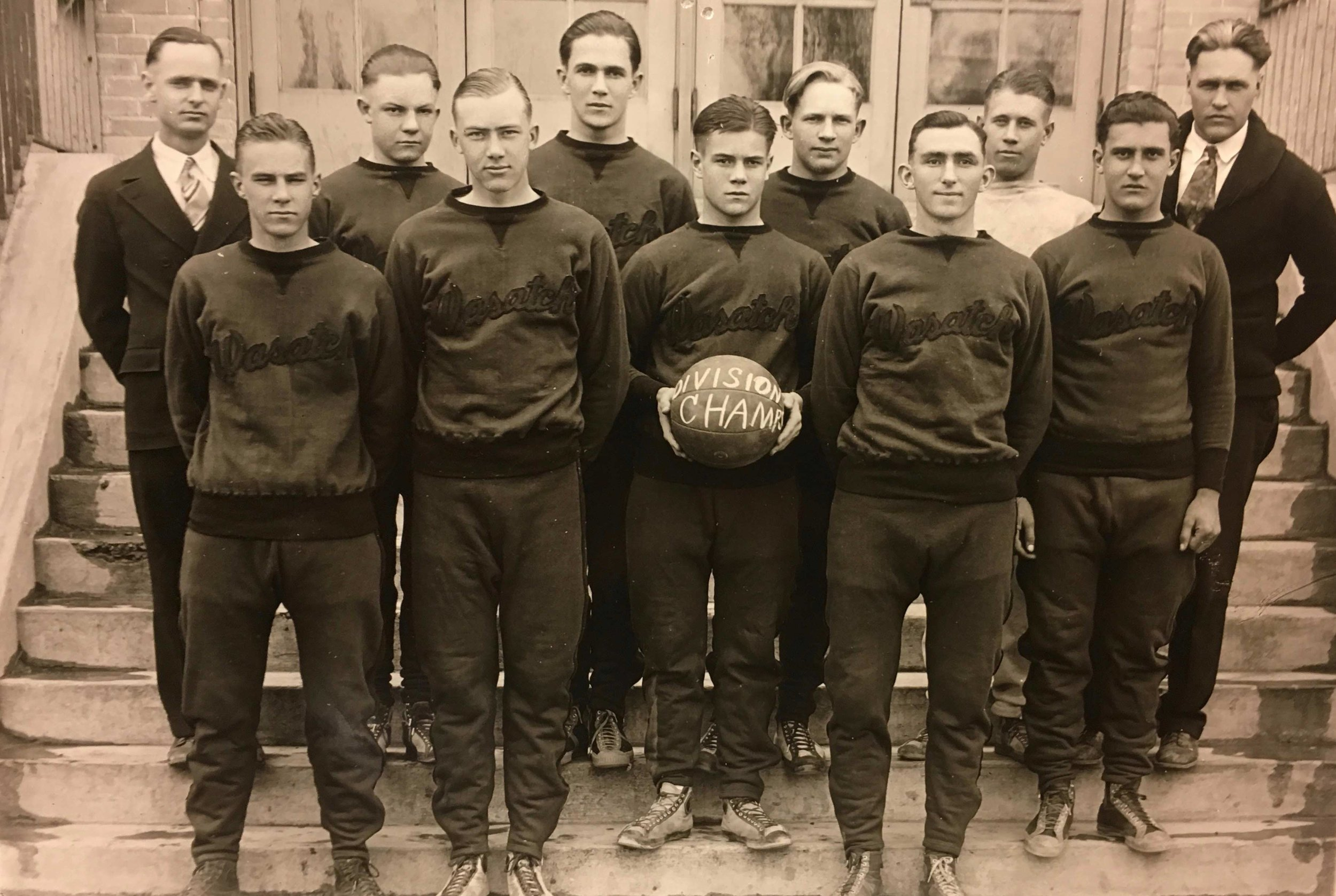 Wasatch Academy Basketball Division Champs // Circa 1928