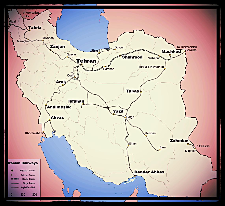 Map of Iran, Wikipedia Commons