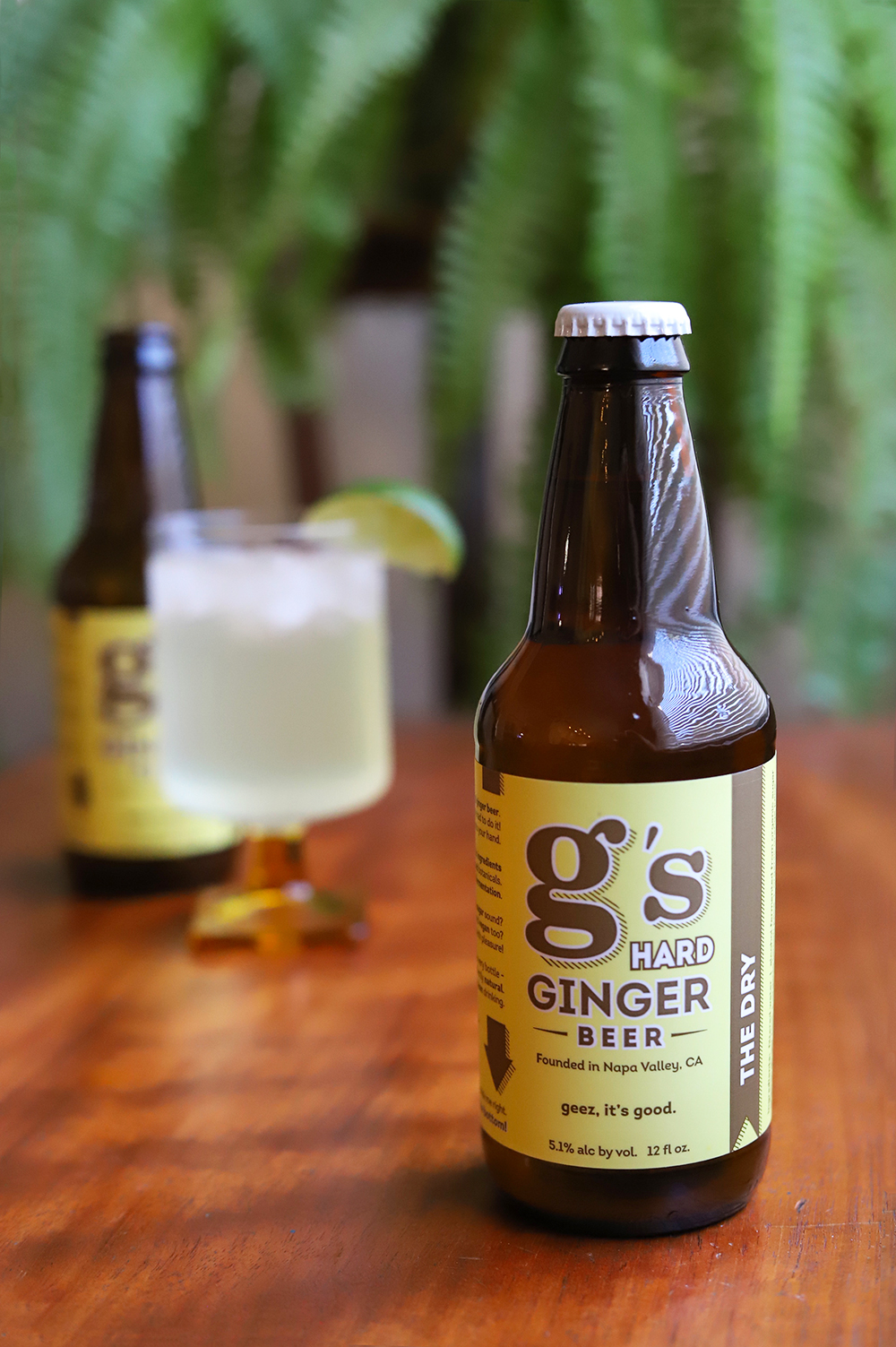 PERFECT MIXER - THE DRY is brewed with organic ginger, lemon and orange juice and fermented till there is only <1g sugar remaining - making this the perfect mixer for Moscow Mule - Kentucky Mule - Gin-GIn Mule and your go-to cocktail recipe.