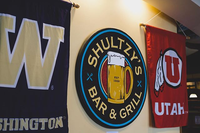 Another home game this Saturday against Utah. Doors open at 9am! We'll be running Gameday Menus & Drink Specials such as Bloody Mary's, Mimosas, etc. Come Pre-game right here at Shultzy's! . . . . . . #uw#huskies#seattle#collegefootball#ncaa#shultzys#godawgs