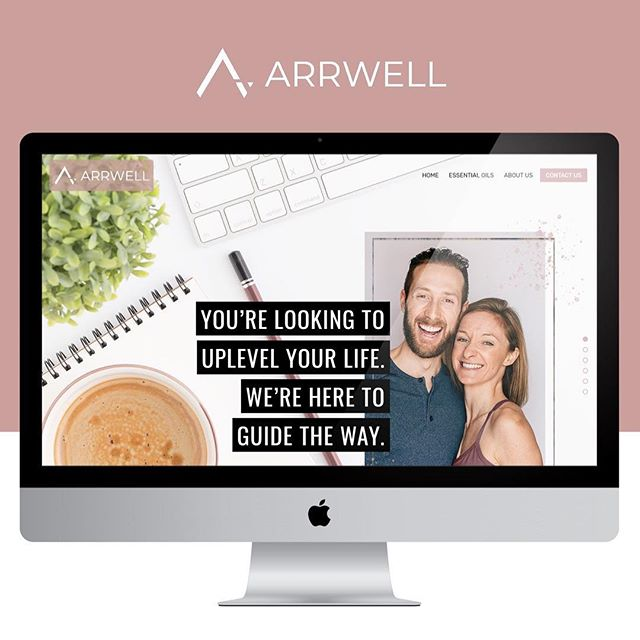 New website is live!! @jackiehougham and I (@johnlcharette) have spent the better part of a year working through a branding and website re-design. We've switched from Shopify to @squarespace and love it so far!  Check it out. We'd love to hear your feedback. Sign up for our newsletter as there's lots more coming in 2019. Stay tuned!  #newwebsite #squarespace #arrwell #neverstopmoving #plantbased #doterra