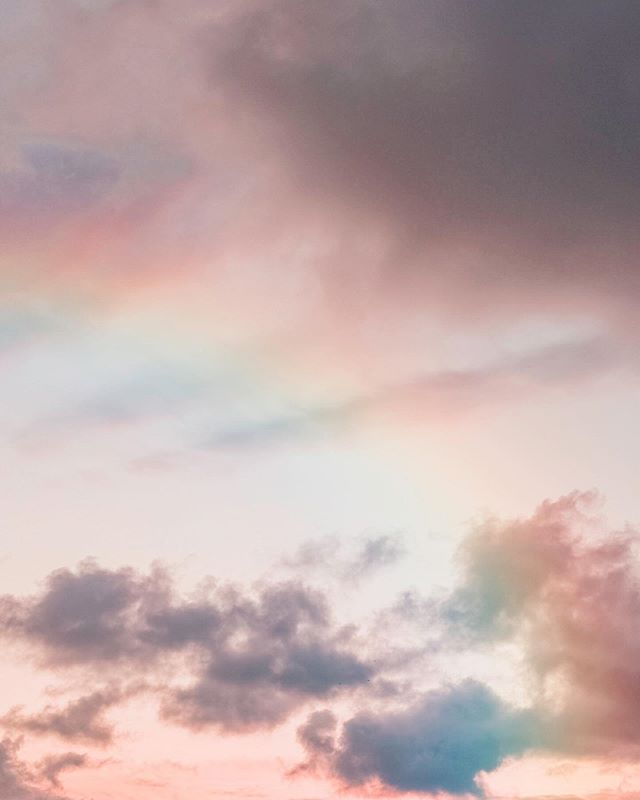"""""""Rainbows: The gift from heaven to us all."""" Anthony T. Hincks"""
