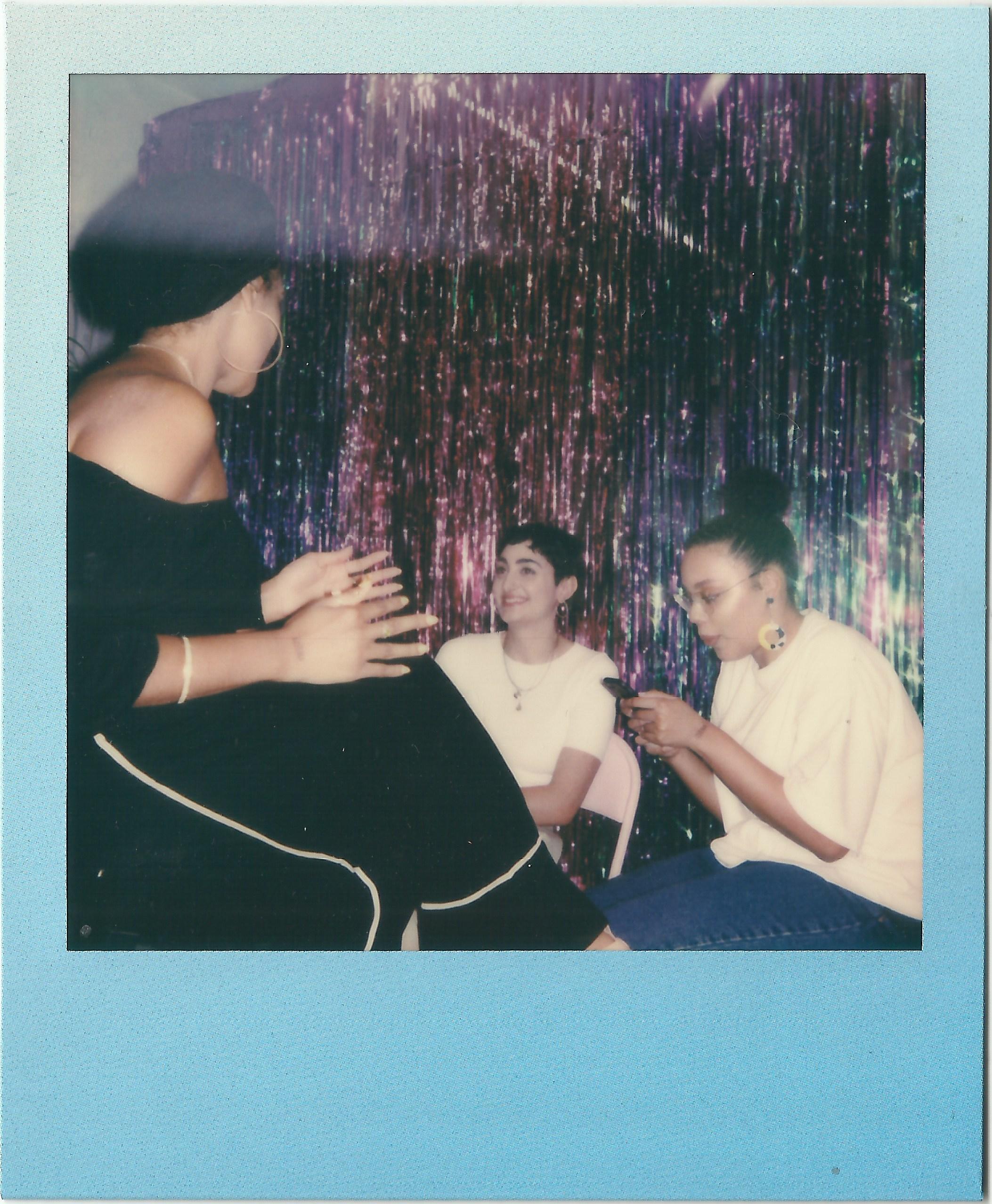 Polaroids by Jameela Elfaki - With thanks to Polaroid Originals