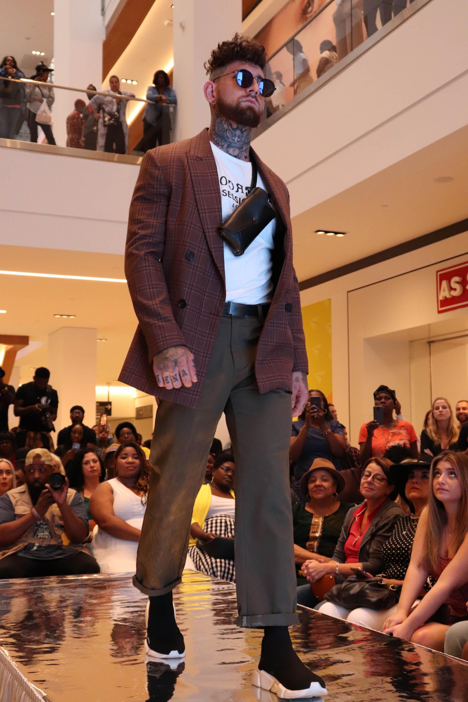 Bergan walks in Philly Fashion Week 2019