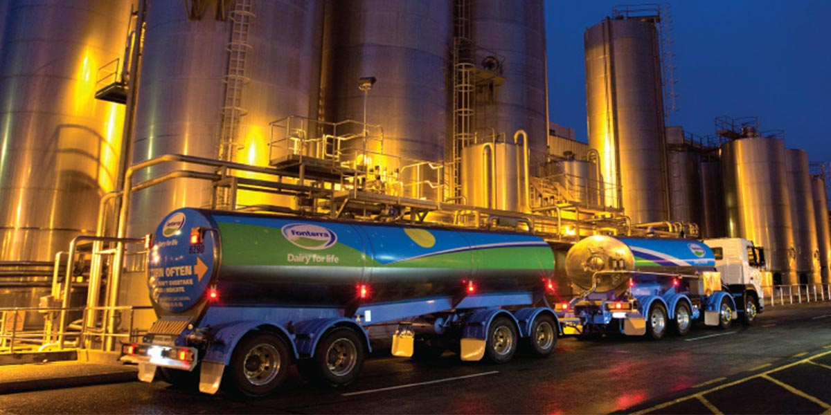 FONTERRA - We ensure milk is stored at the correct temperature, every day, everywhere in NZ. Our smart systems and instant alerts with remote monitoring protect the client against significant loss. Within Fonterra cool store facilities, we manage, monitor and log the refrigeration process, asset status and movement in the chillers.