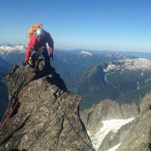 Forbidden Peak, in the North Cascades of Washington