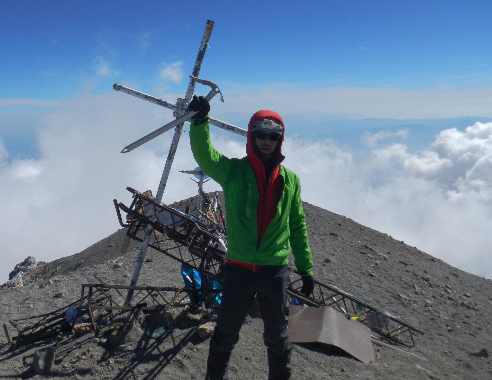 The Summit of Orizaba. Photo credit: John Wallingford.