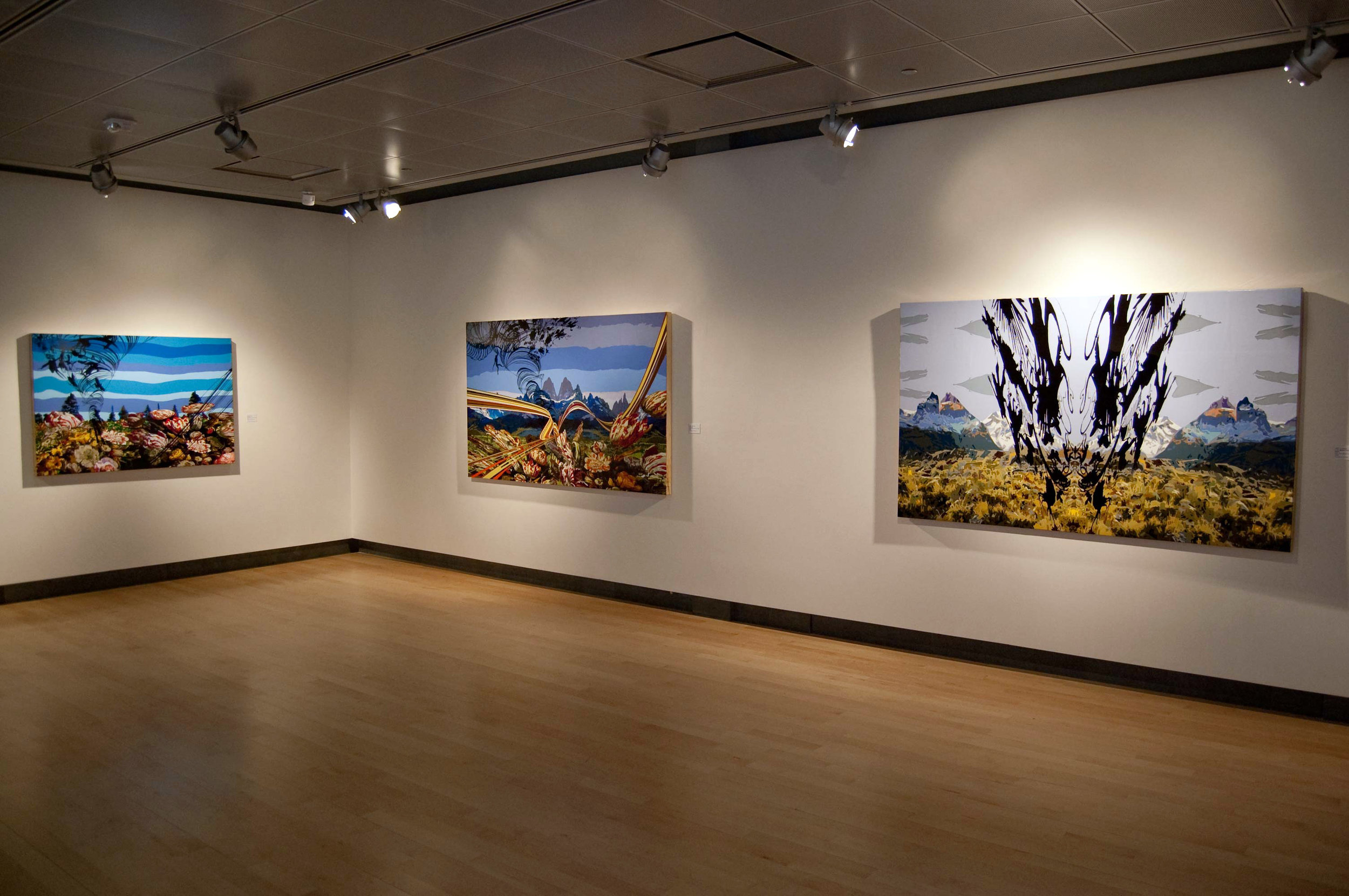 A solo exhibition of Griff Williams paintings, at the Missoula Museum Of Art, Missoula, Mont