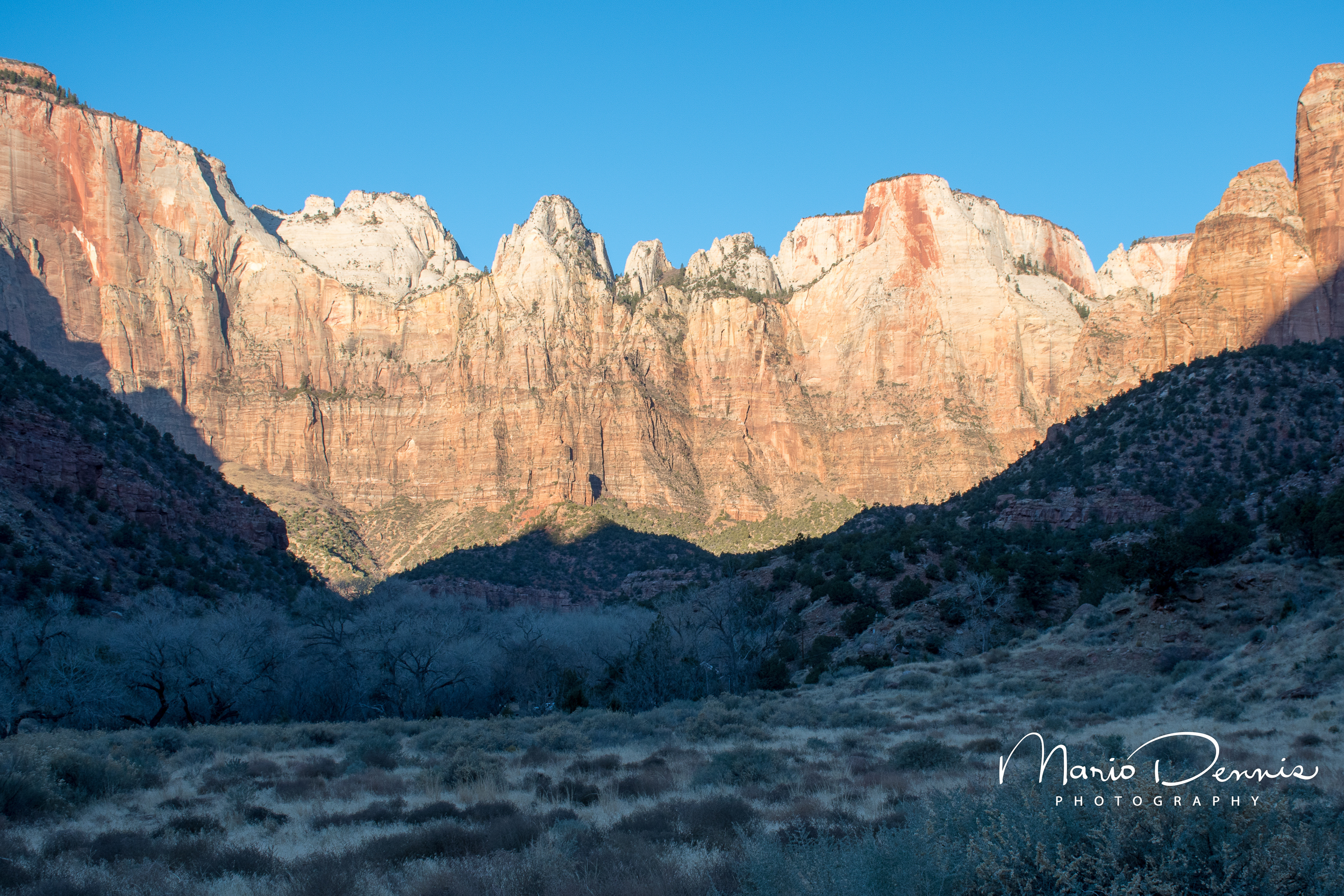 Towers of the Virgin, Zion National Park, UT