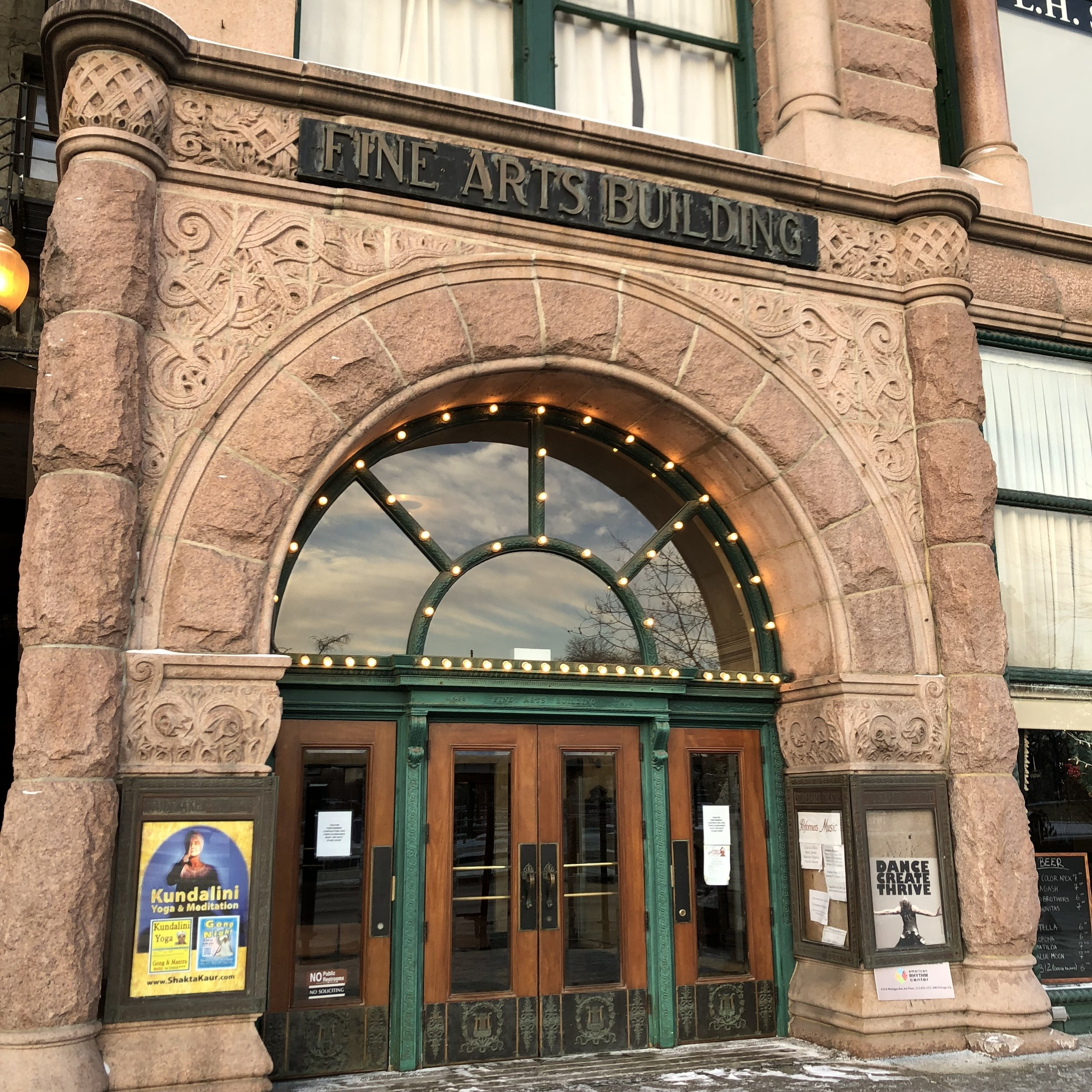 The Fine Arts Building at 410 South Michigan Avenue in Chicago is home to several great violin shops and dealers.