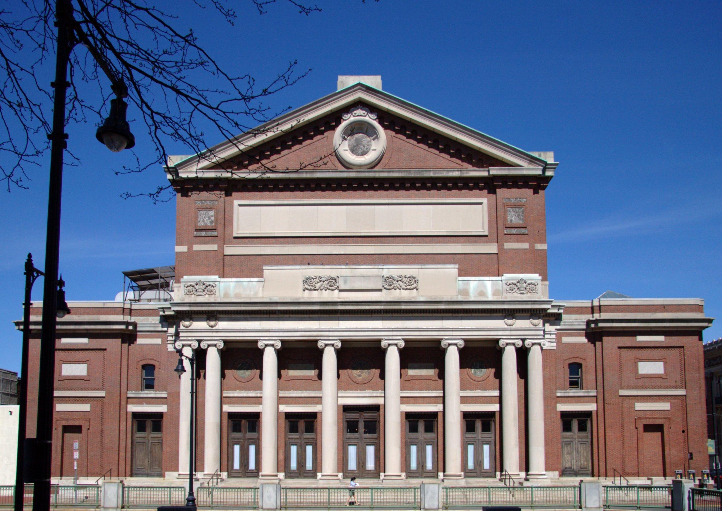 Boston Symphony Hall in Boston, Massachusetts