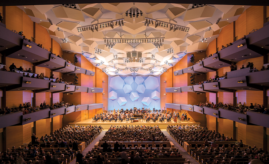 minnesota orchestra hall in minneapolis, minnesota