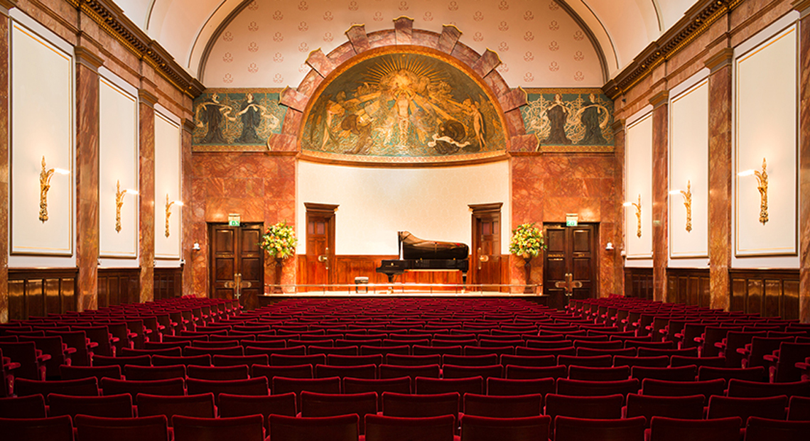 Wigmore Hall in London, England