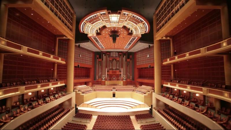 Meyerson Symphony Center in Dallas, Texas.