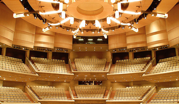 Roy Thompson Hall in Toronto, ontario, Canada - Home of the Toronto Symphony Orchestra