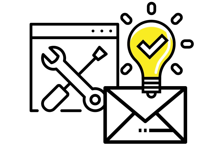 website design and email marketing moxie creative solutions icon
