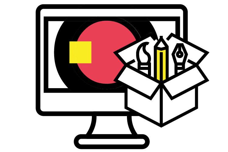 moxie creative solutions graphic design services icon