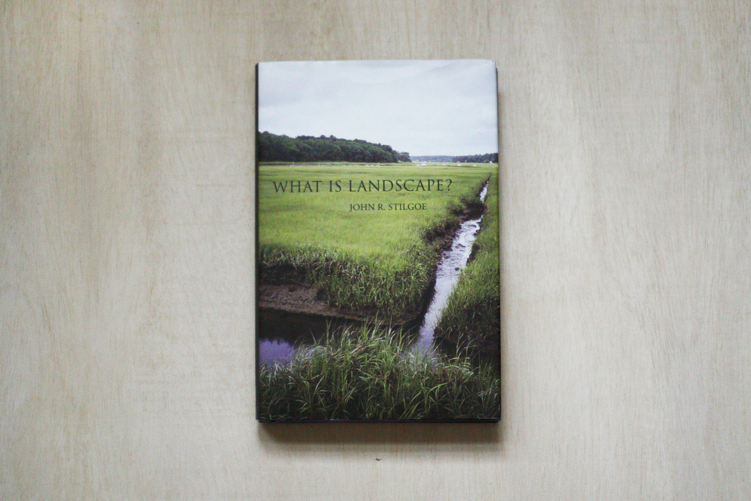 What is Landscape?  by John R. Stilgoe