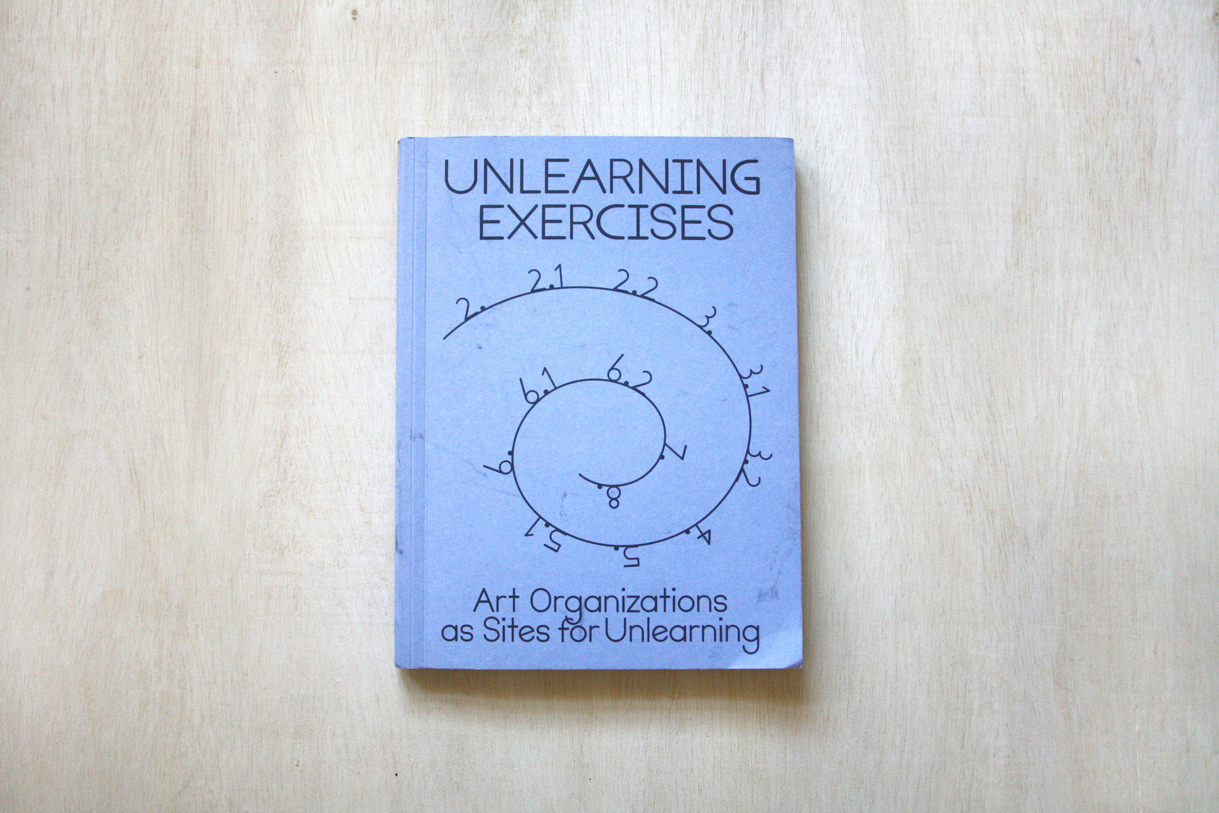Unlearning Exercises: Art Organizations as Sites for Unlearning  by Emily Pethick, Andrea Phillips, Kerstin Stakemeier, Yolande Van Der Heide, Binna Choi (Editor)