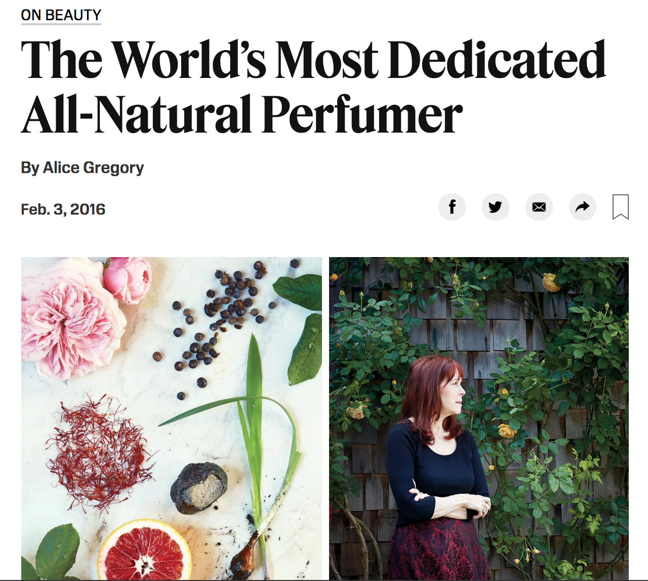 This article was written before the Archive of Curious Scents opened. If you'd like to read more about the Archive, there is another article  here  (this link is from the NY Times).