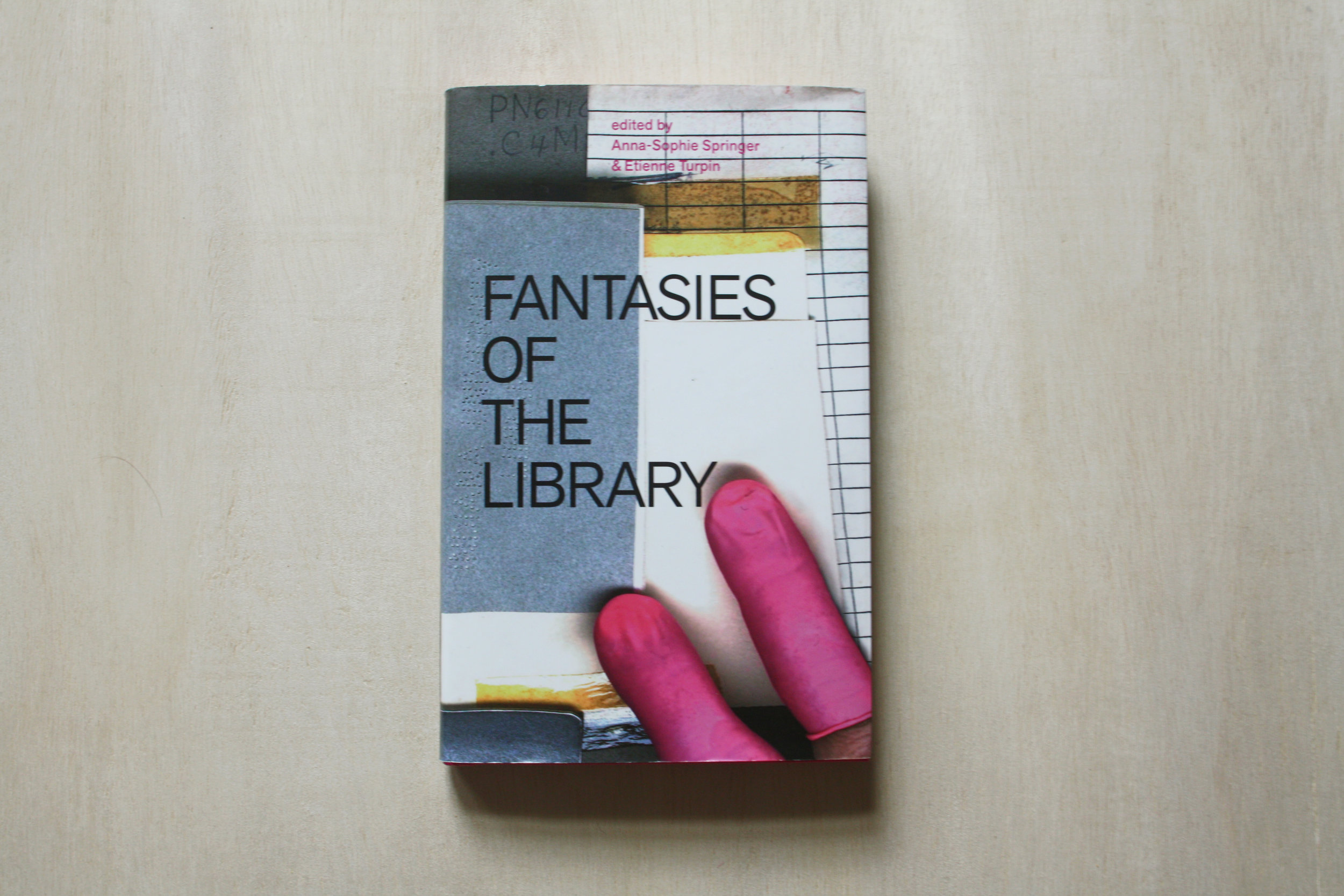 From  Fantasies of the Library , a chapter about the Prelinger Library