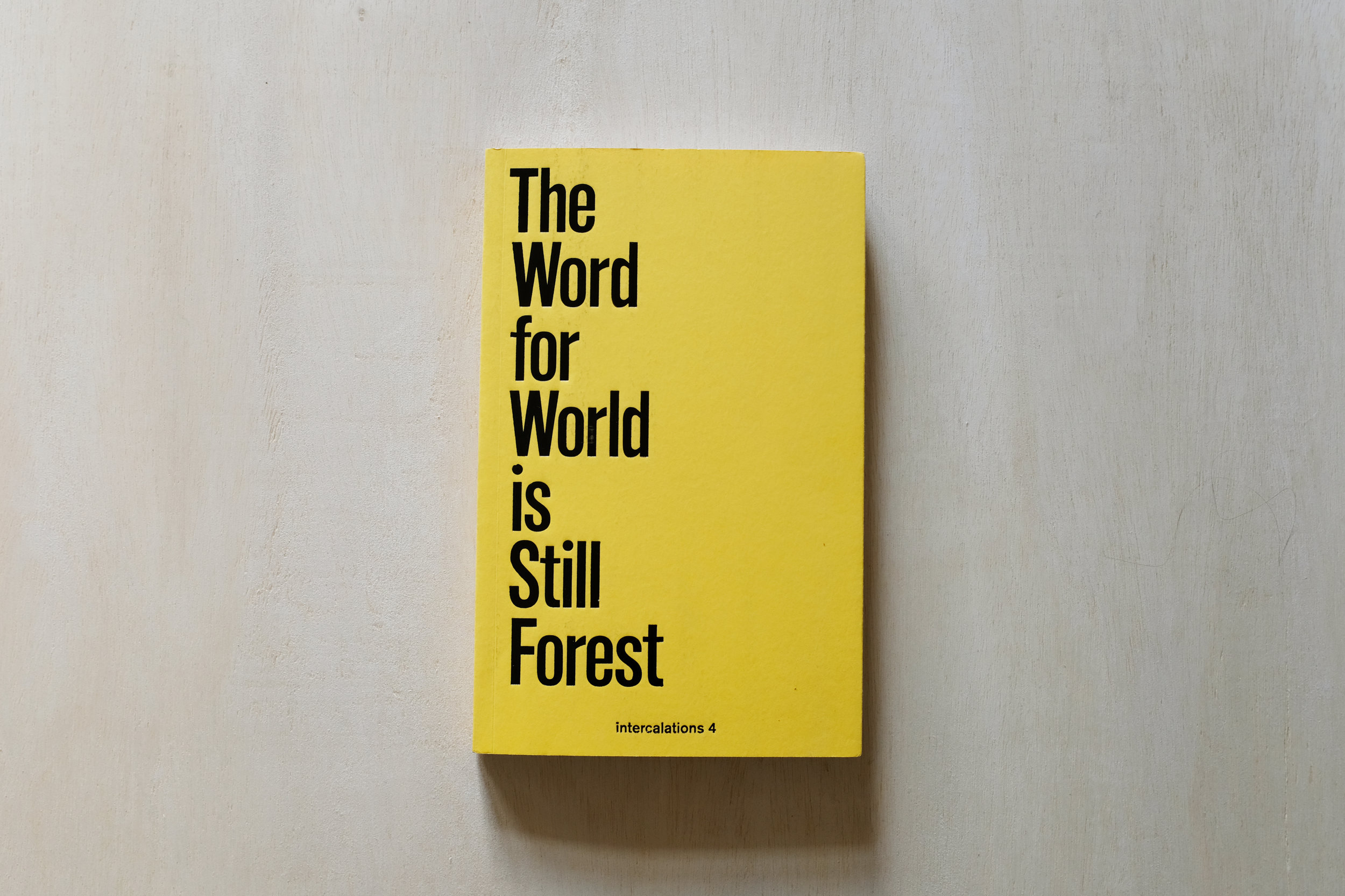 "The chapter "" It Goes on like a Forest "" from the book  The Word for World is Still Forest  addresses the consequences of the modernist perspectives on forests. Reading it led me to ask the question: How is our relationship to the forest changing?"