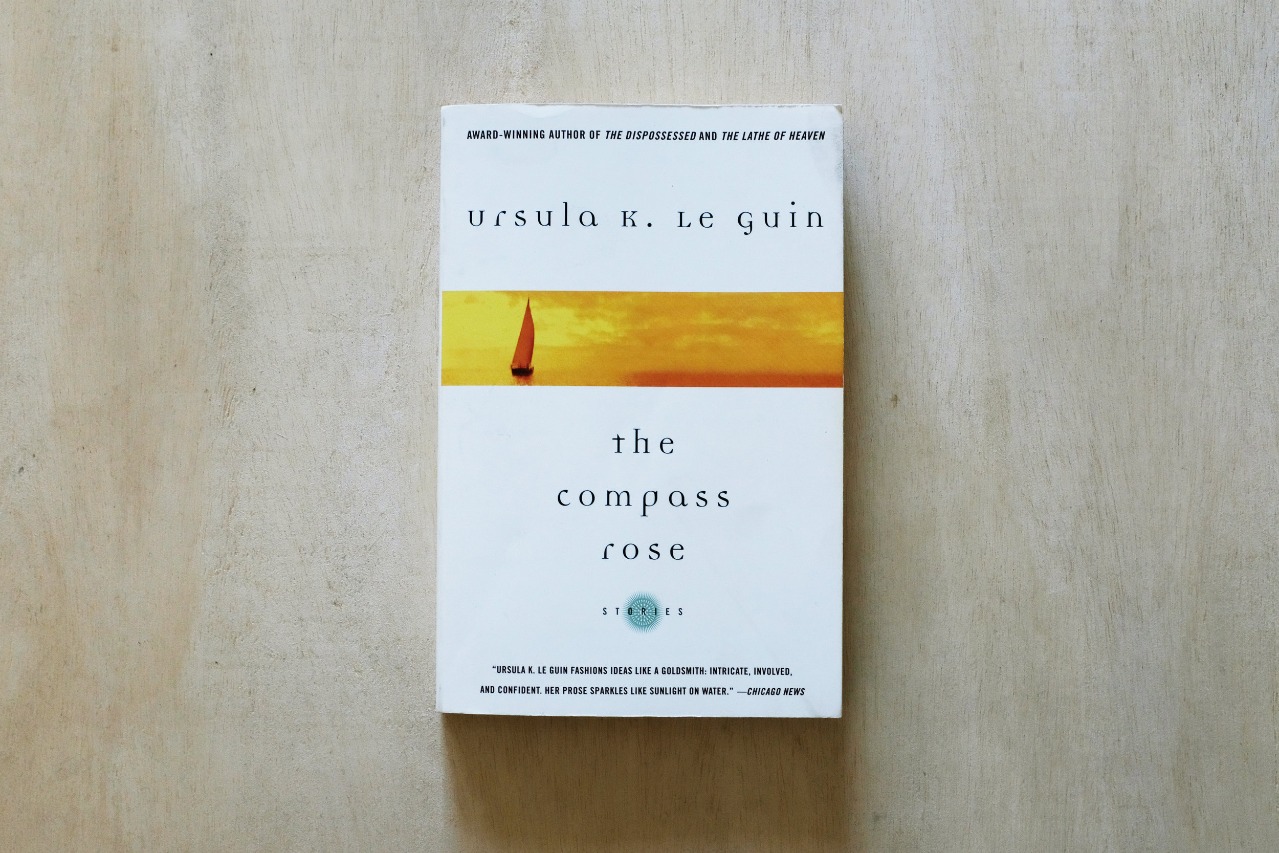 """Ursula Le Guin's short story  The Author of Acacia Seeds  (from the book The Compass Rose) is a mythical satire exploring secret non-human languages, and reminding us that humans are not the center of the world. MK Smaby has posed these questions: How might we """"read"""" wheat? Can we parse 10,000 years of its infrastructure as a sort of vegetable lyricism? What is wheat's art form? Its agency?"""