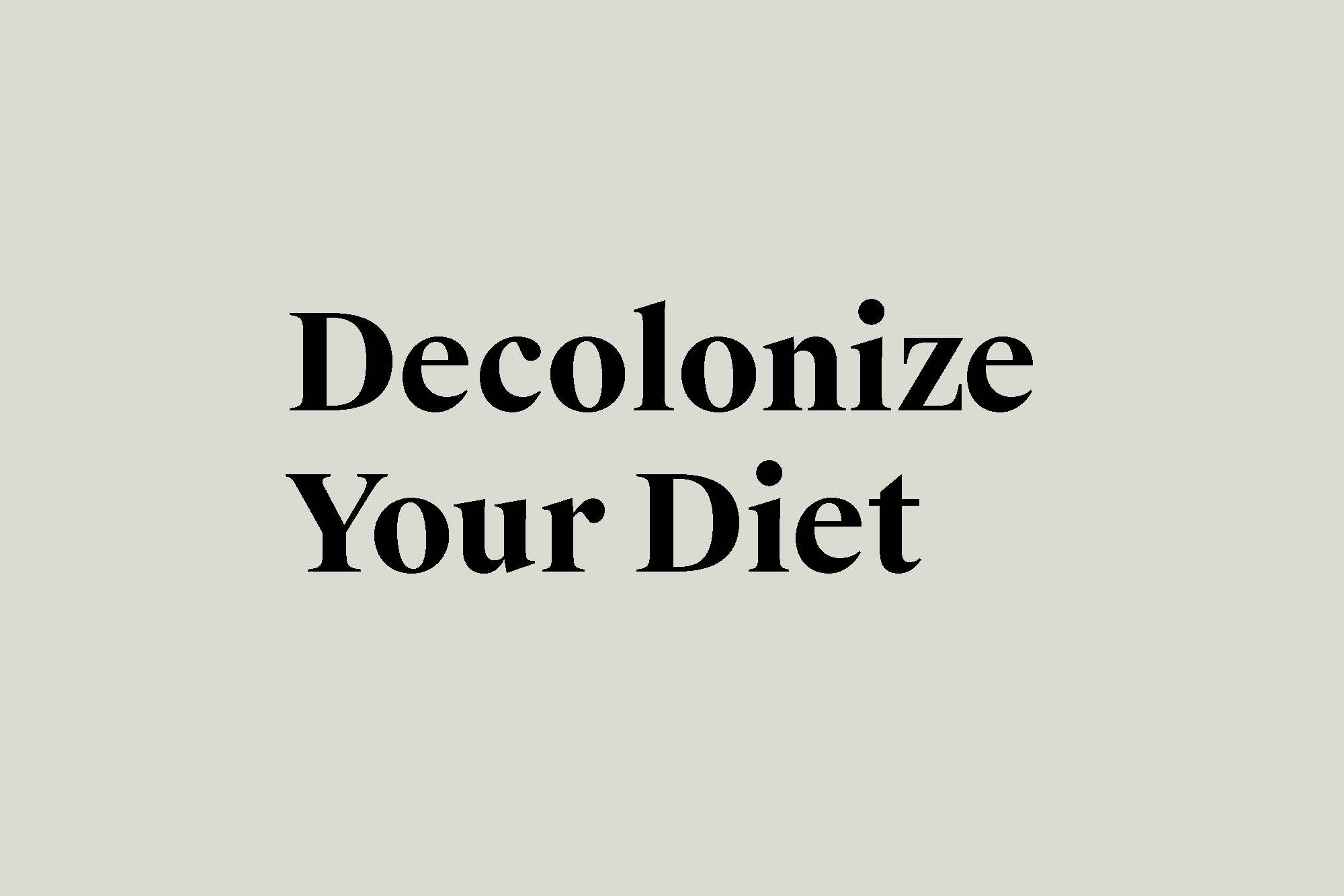 In    Decolonize Your Diet: A Manifesto   , Dr. Catriona Rueda Esquibel and Dr. Luz Calvo build an argument for food sovereignty. They are specifically focus their argument on the Mexican community and that making a pot of beans as a revolutionary act. We are inspired by their manifesto and believe that  fermentation is an essential part of food sovereignty. Fermentation allows us to preserve our harvest and have local nutrients during the cold seasons and fermented foods can restore the microbiome wrecked by the industrial food system.