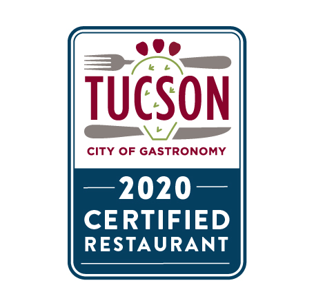 Tucson City of Gastronomy Restaurant Certification - TCoG restaurants demonstrate a commitment to localism, heritage ingredients, sustainability, and economic empowerment.Restaurant owner? Apply here!